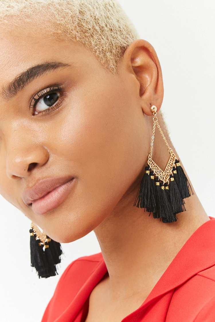 Tassel Chandelier Earrings | Hermosaz