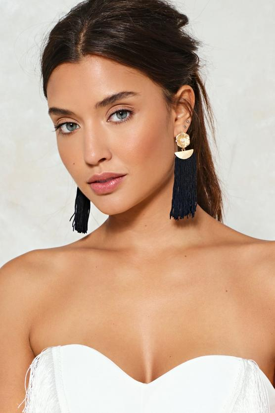 Let It All Hang Out Fringe Earrings | Hermosaz