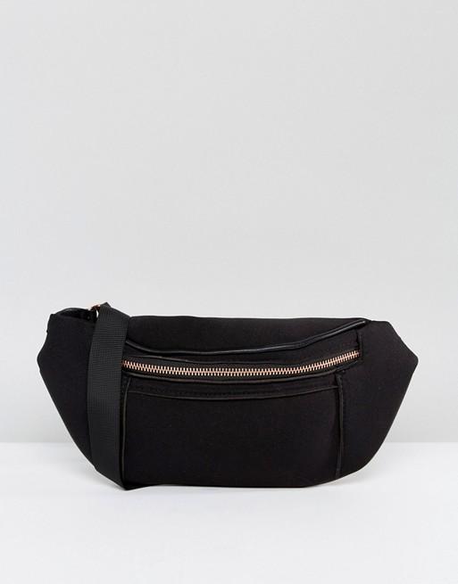 ASOS Scuba Bum Bag With Rose Gold | Hermosaz