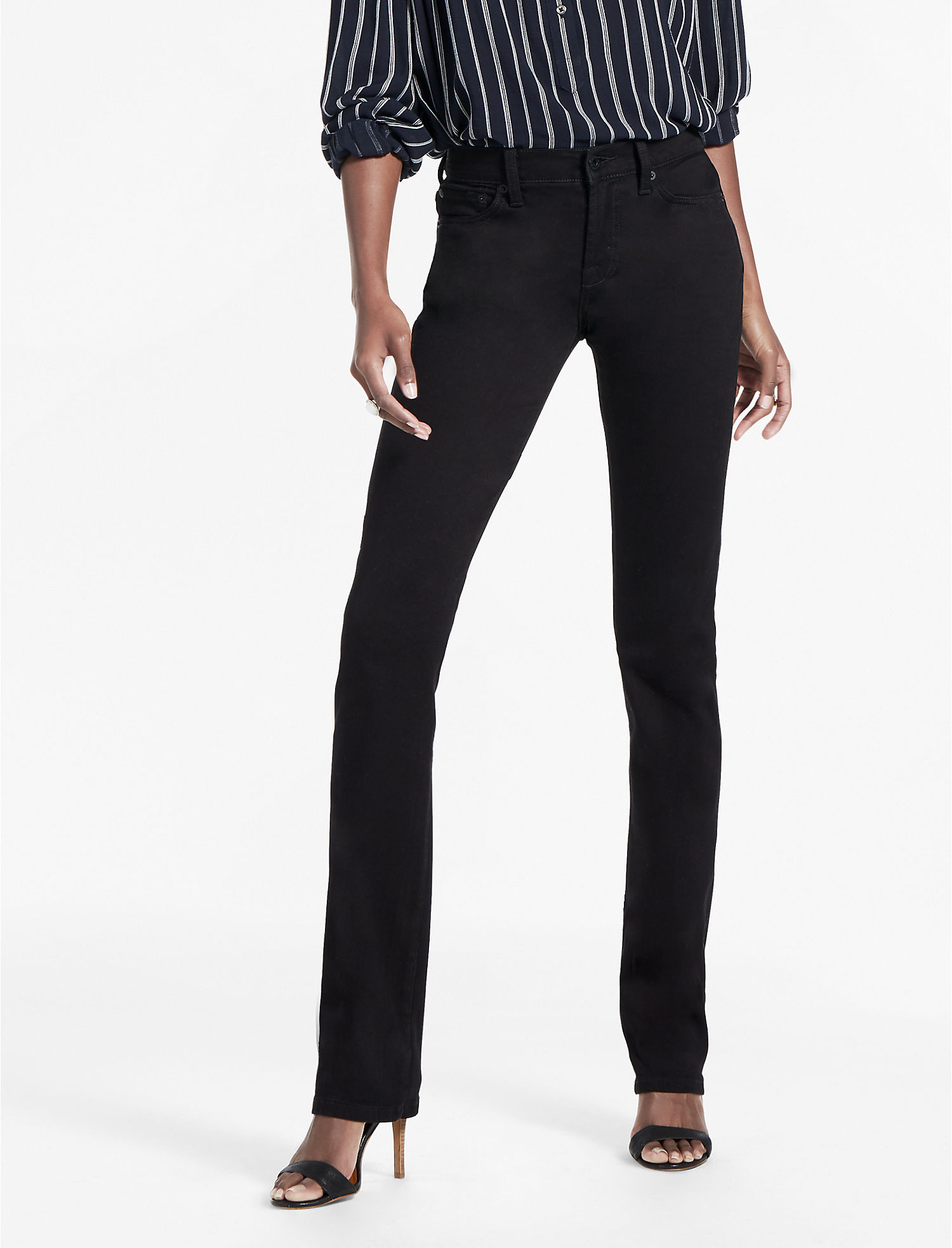 Easy Rider Relaxed Bootcut Jean In Black Amber