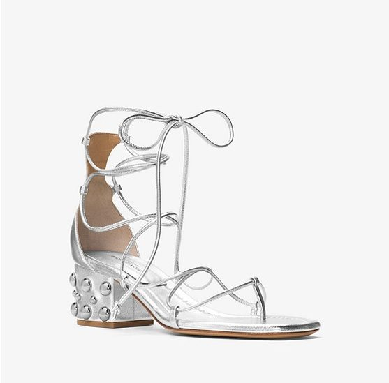 Ayers Embellished Leather Sandal