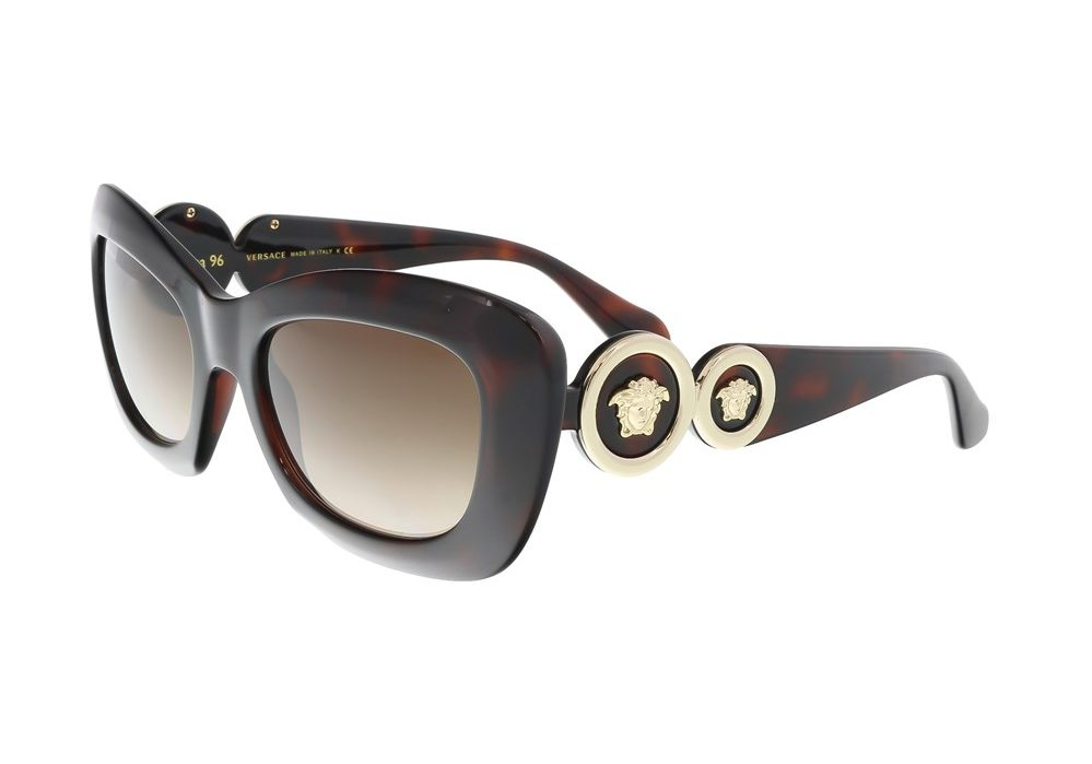 Havana Rectangle Sunglasses