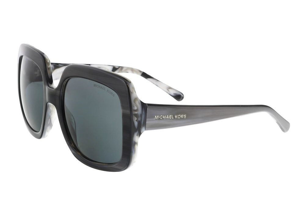 Harbor Mist Grey Marble Square Sunglasses