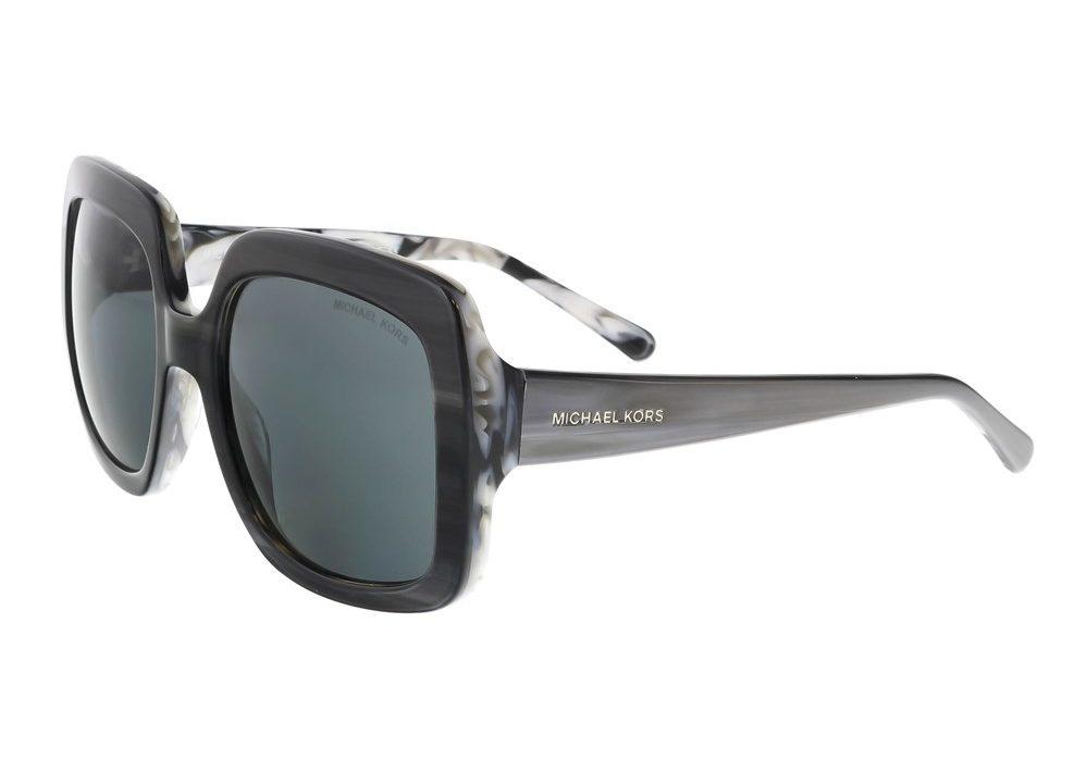 Harbor Mist Grey Marble Square Sunglasses