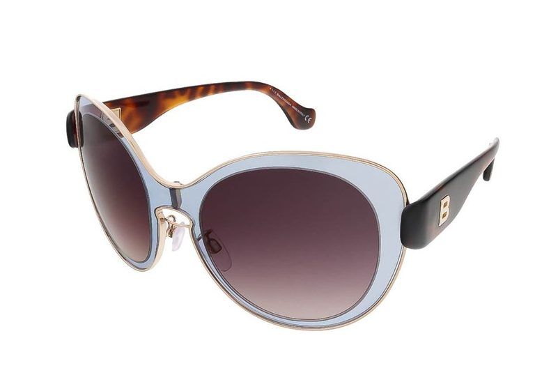 Grey/Havana Round Sunglasses