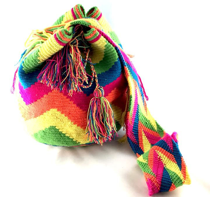 EXCLUSIVE Wayuu Bag Multi Happiness