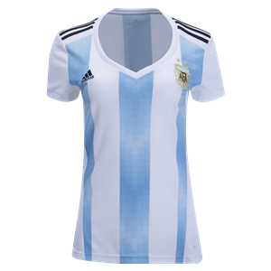 Argentina 2018 Women's Home Jersey by adidas