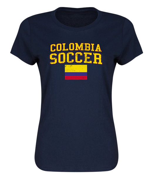 Colombia Women's Soccer T-Shirt