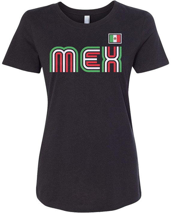Mexico Athletic Retro Series Women's Long Sleeve T-shirt