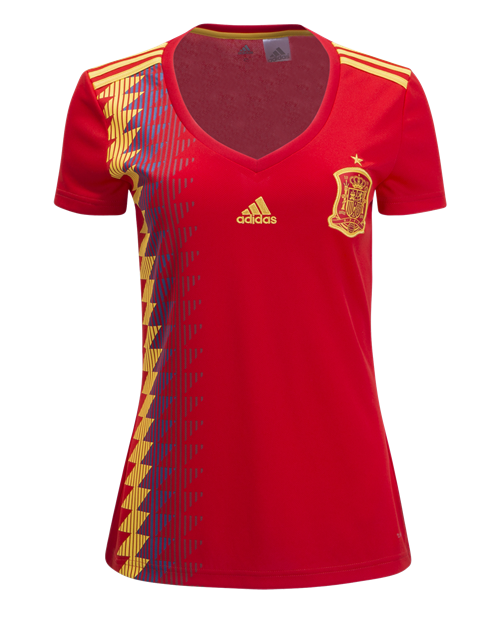 Spain 2018 Women's Home Jersey by adidas