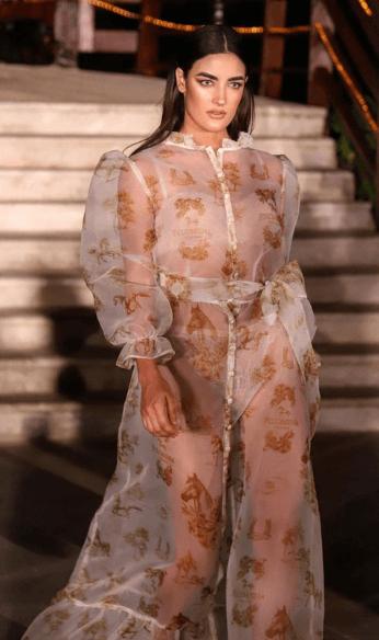Michelle runway photo