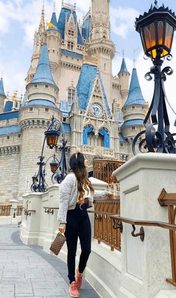 Brenda at Disneyland