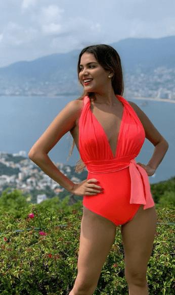 Paloma bright pink swimsuit