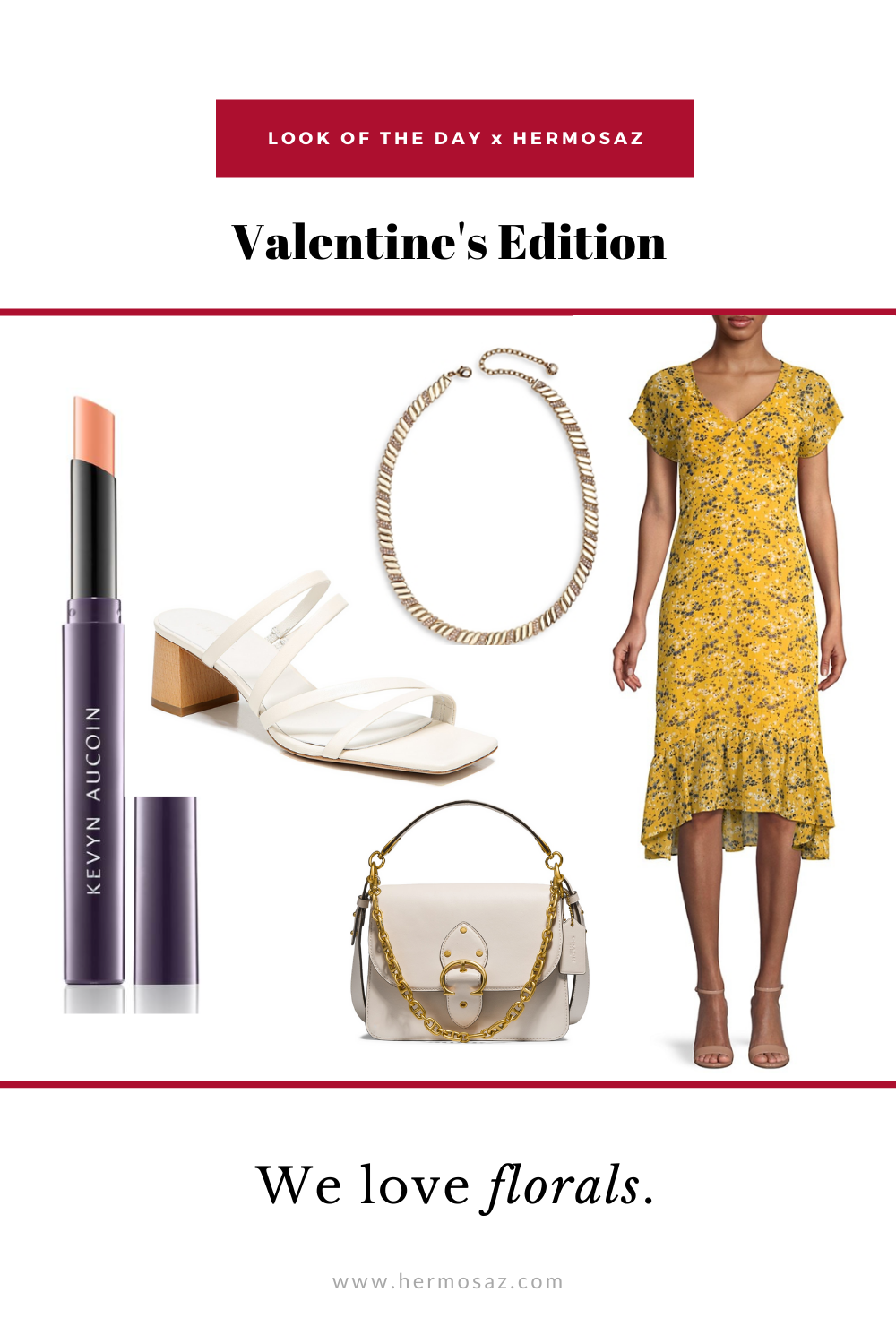 valentines look of the day