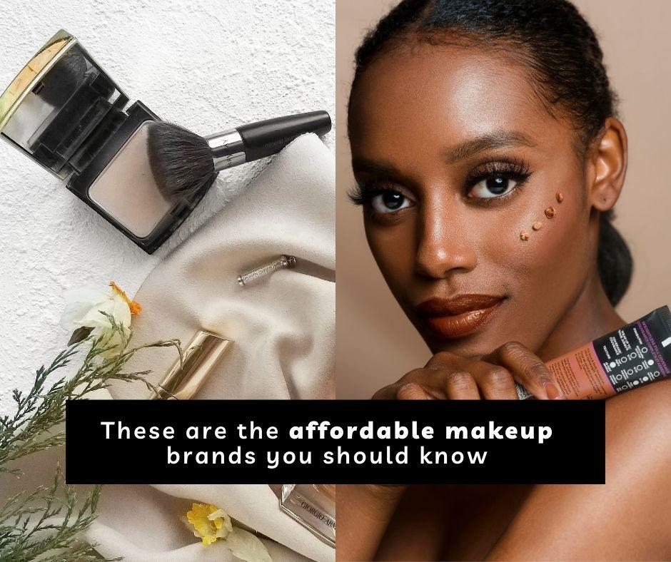 affordable makeup brands
