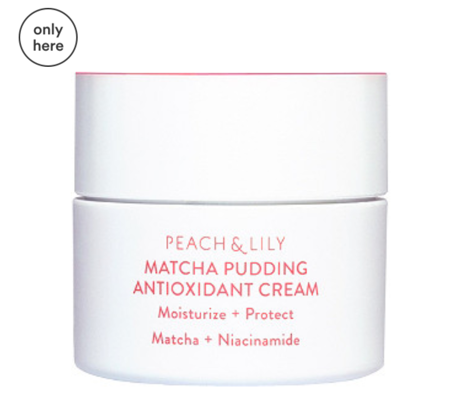 Peach&Lily matcha pudding cream