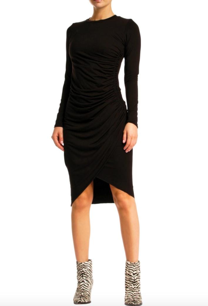 FIONA BLACK DRESS