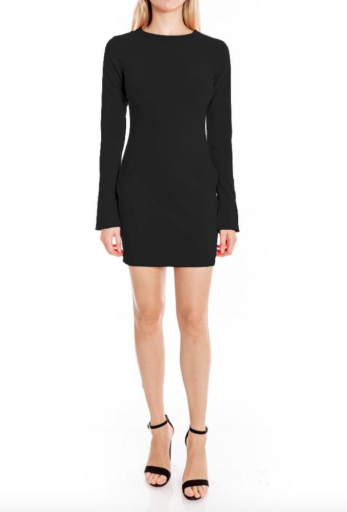 Black Manhattan Dress