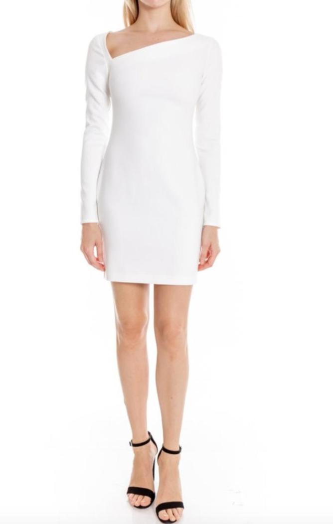white romeo dress