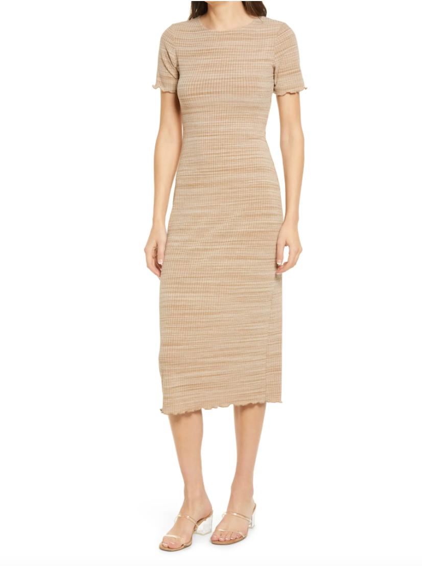 Perry Rib Midi Dress