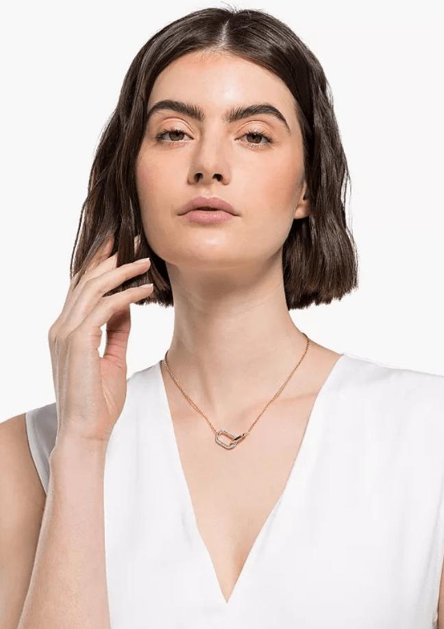 Hermosaz x versatile Swarovski Time Necklace
