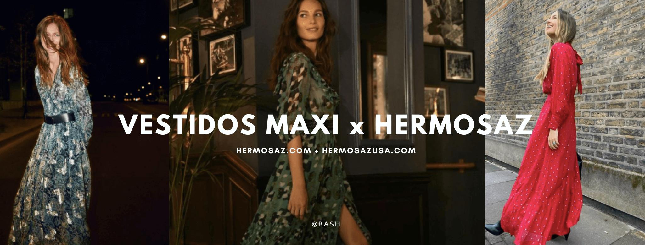 Vestidos maxi x Hermosaz