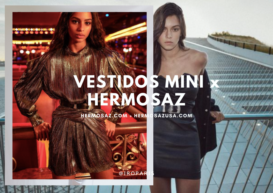 Vestidos mini x Hermosaz