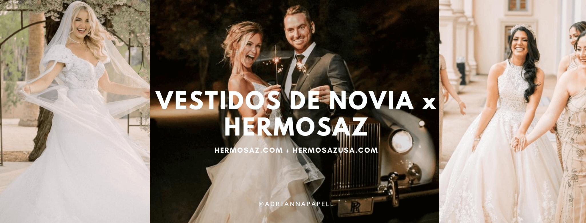 Vestidos de novia x Hermosaz