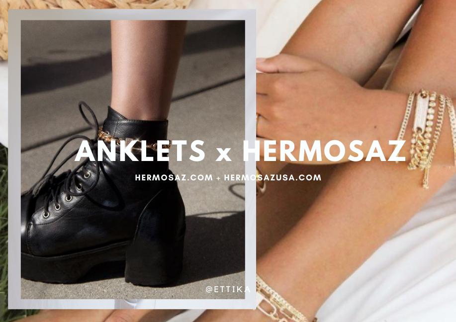 Anklets x Hermosaz