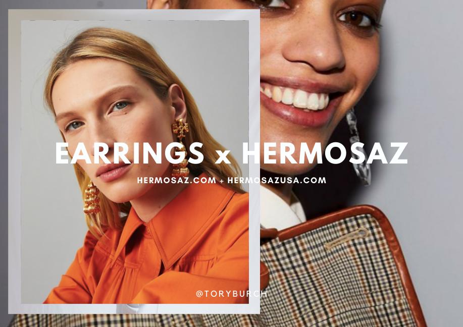 Earrings x Hermosaz