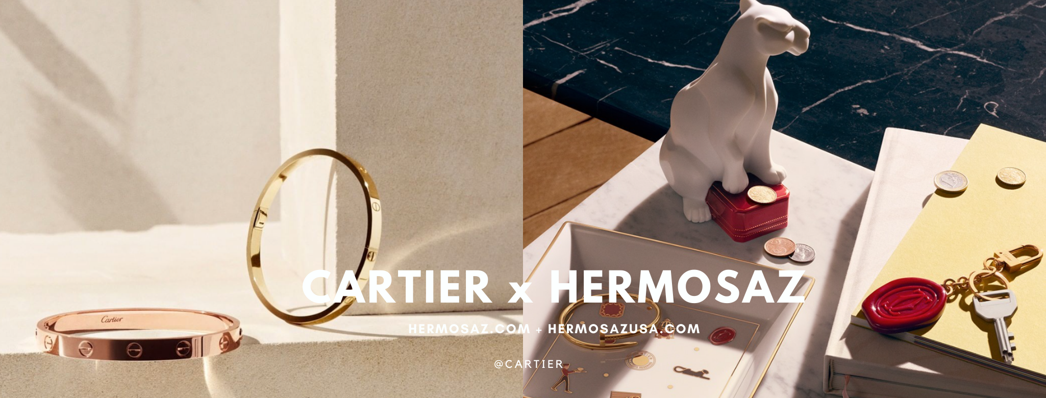 Cartier x Hermosaz