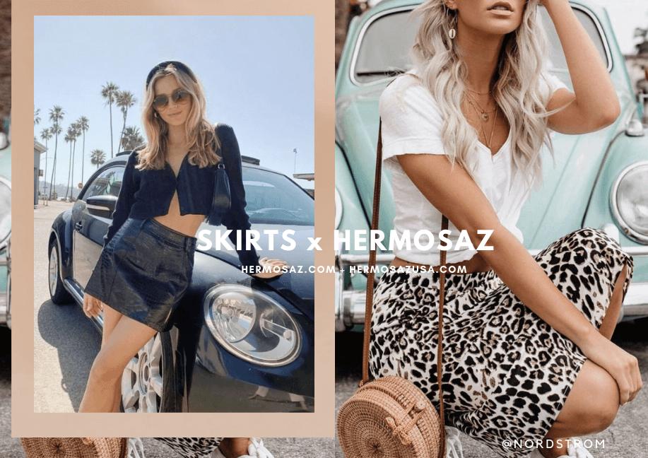 Skirts x Hermosaz