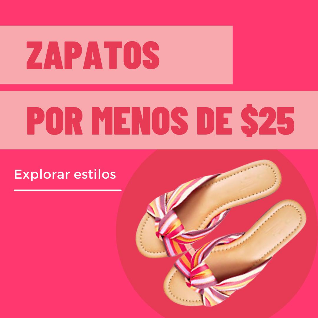 zapatos por menos de 25 mobile