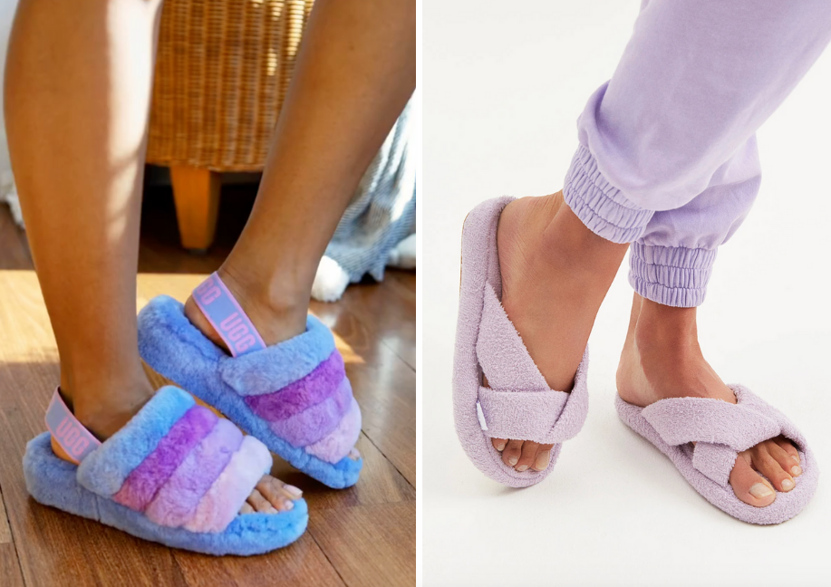 zapatos pantuflas