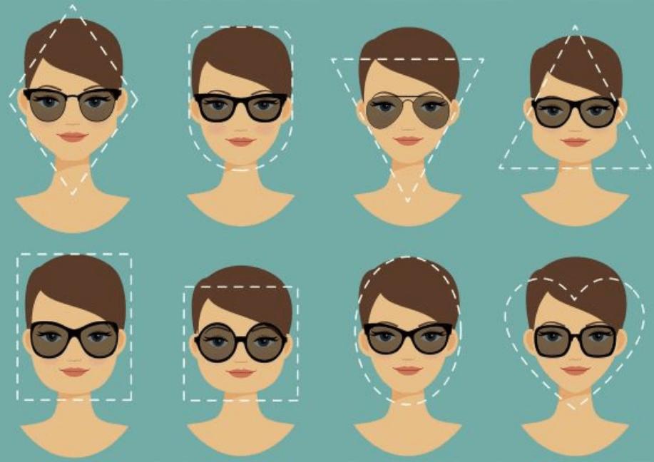lentes de sol de acuerdo a tu rostro