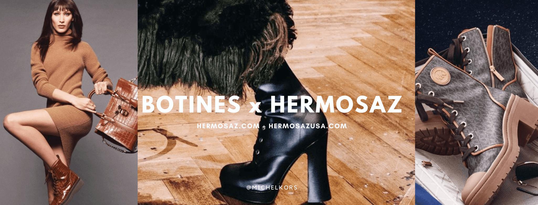 Botines x Hermosaz