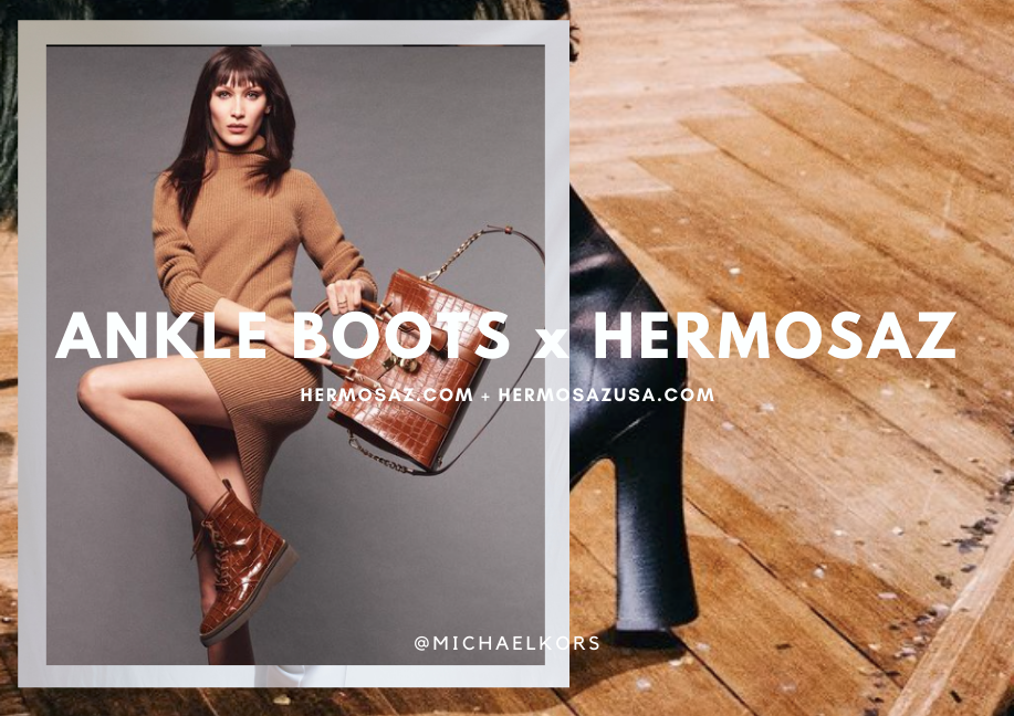 Ankle Boots x Hermosaz