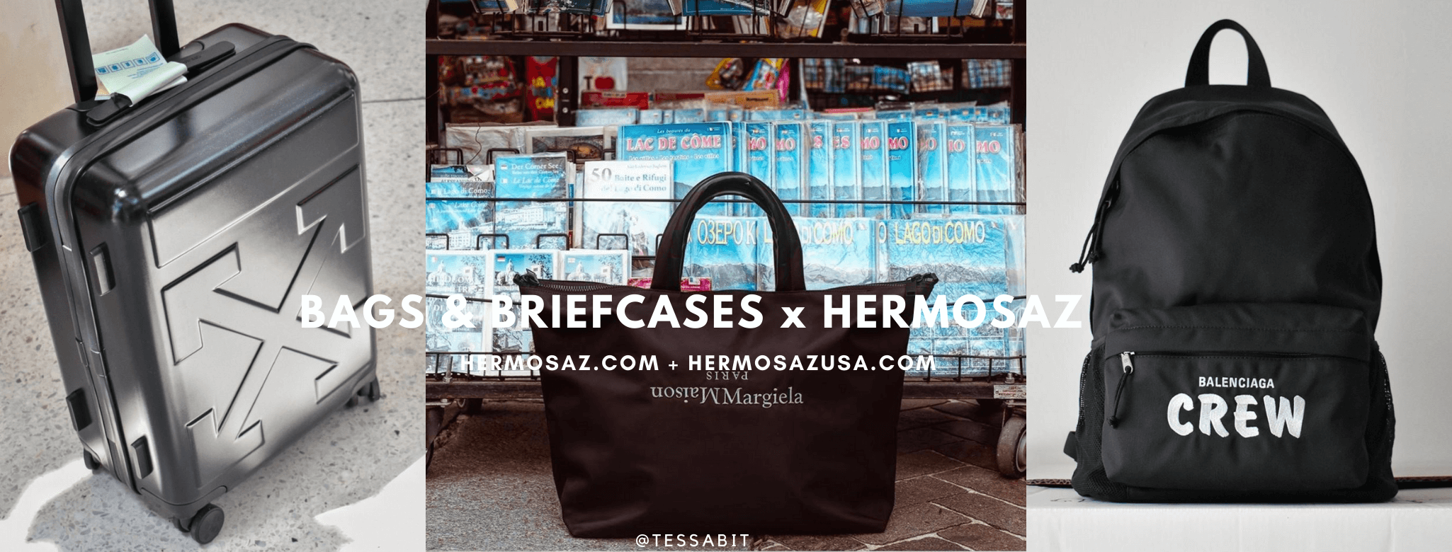 Bags & Briefcases x Hermosaz