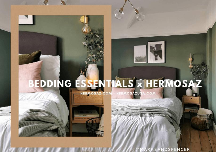 Bedding essentials x Hermosaz