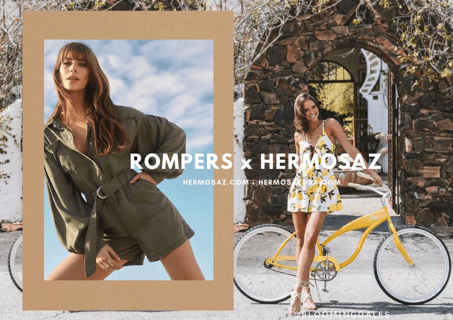Rompers x Hermosaz