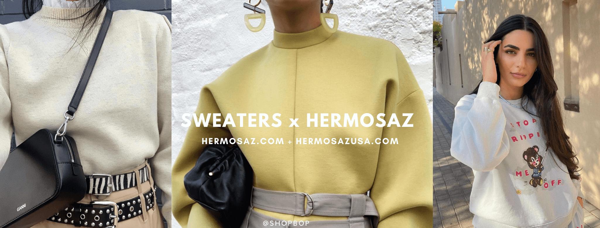 Sweaters x Hermosaz