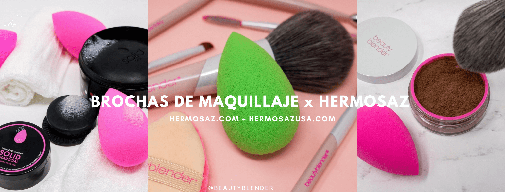 Makeup brush and tools x Hermosaz